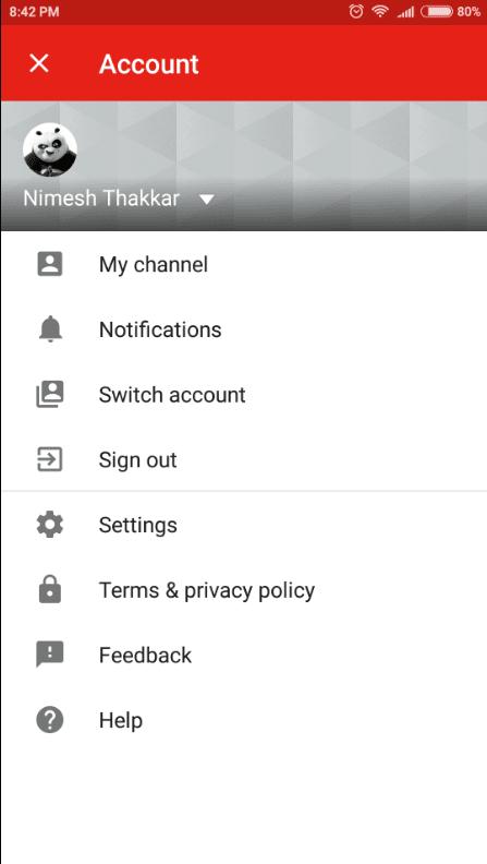 Google тестирует изменения пользовательского интерфейса для YouTube Android (New menu replaces the overflow menu)