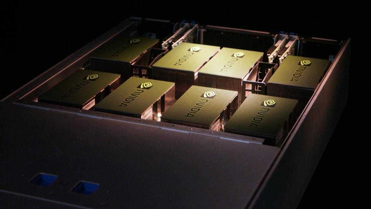 Nvidia DGX1  - Суперкомпьютер NVIDIA DGX-1 для ИИ доступен в России