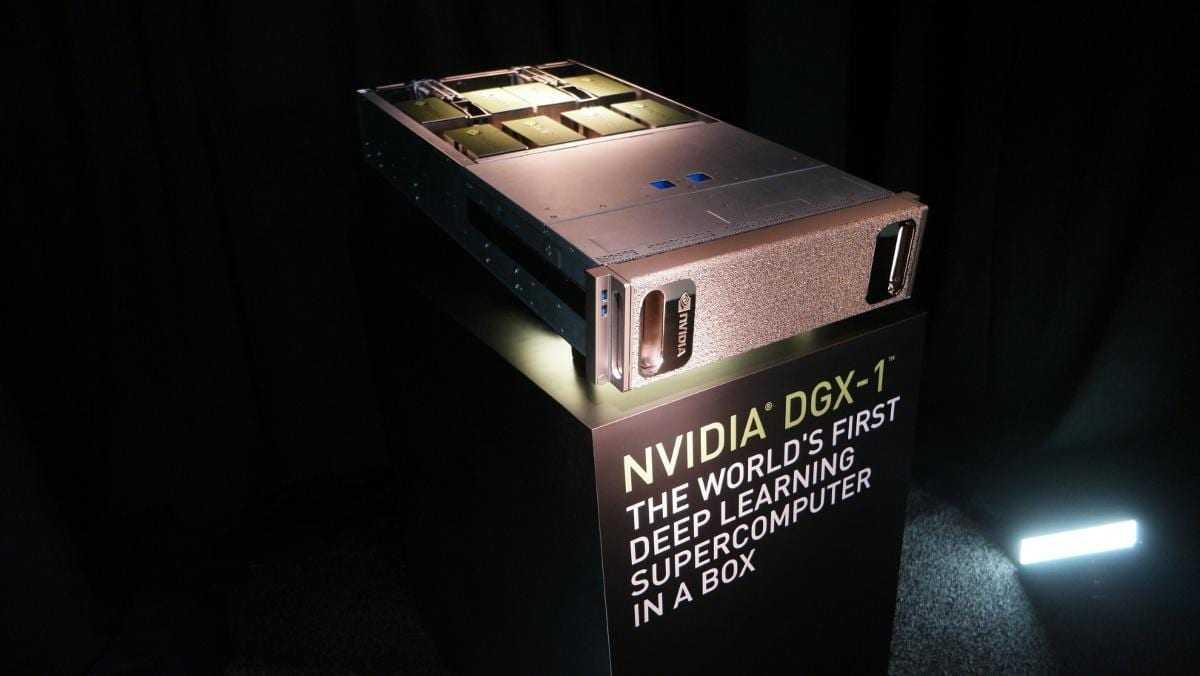 Nvidia DGX11 - Суперкомпьютер NVIDIA DGX-1 для ИИ доступен в России