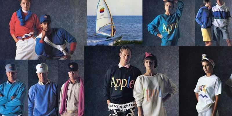 Слухи: Apple планирует снова выпускать одежду (apple fashion line)