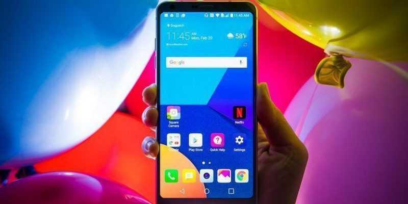 LG выпускает новый смартфон G6 на мировую арену (lg g6 4578)
