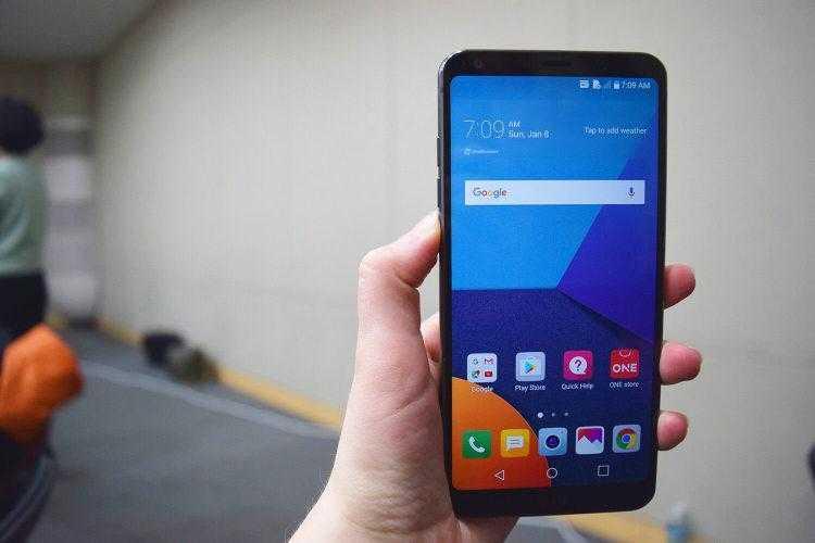 lg g6 winner 2. 750 - LG выпускает новый смартфон G6 на мировую арену
