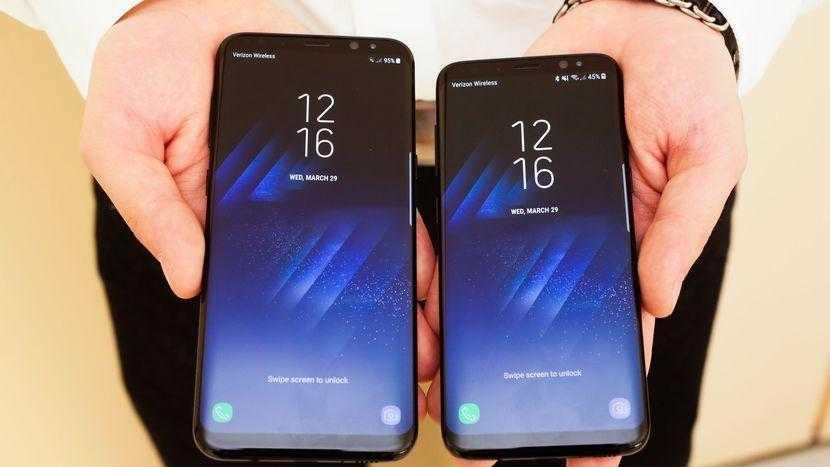 samsung galaxy s8 010 - Samsung выпустит Galaxy S8 без ассистента Bixby