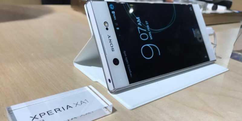Стартовал предзаказ на смартфон Xperia XA1 (sony xperia xa1 ultra review white mwc)