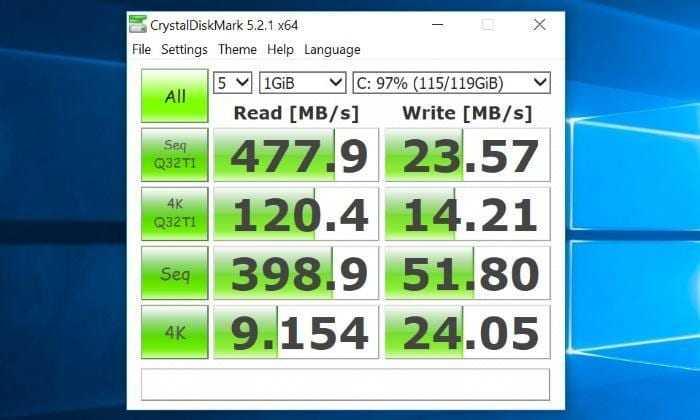 voyo vbook v3 ssd speed - Обзор ноутбука-трансформера VOYO Vbook V3 - апельсиновый универсал