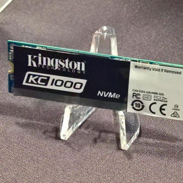 Computex 2017. Kingston сделала накопитель KC1000 NVMe PCIe (002065)