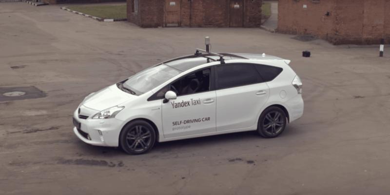 Яндекс показал свой беспилотный автомобиль (2332)