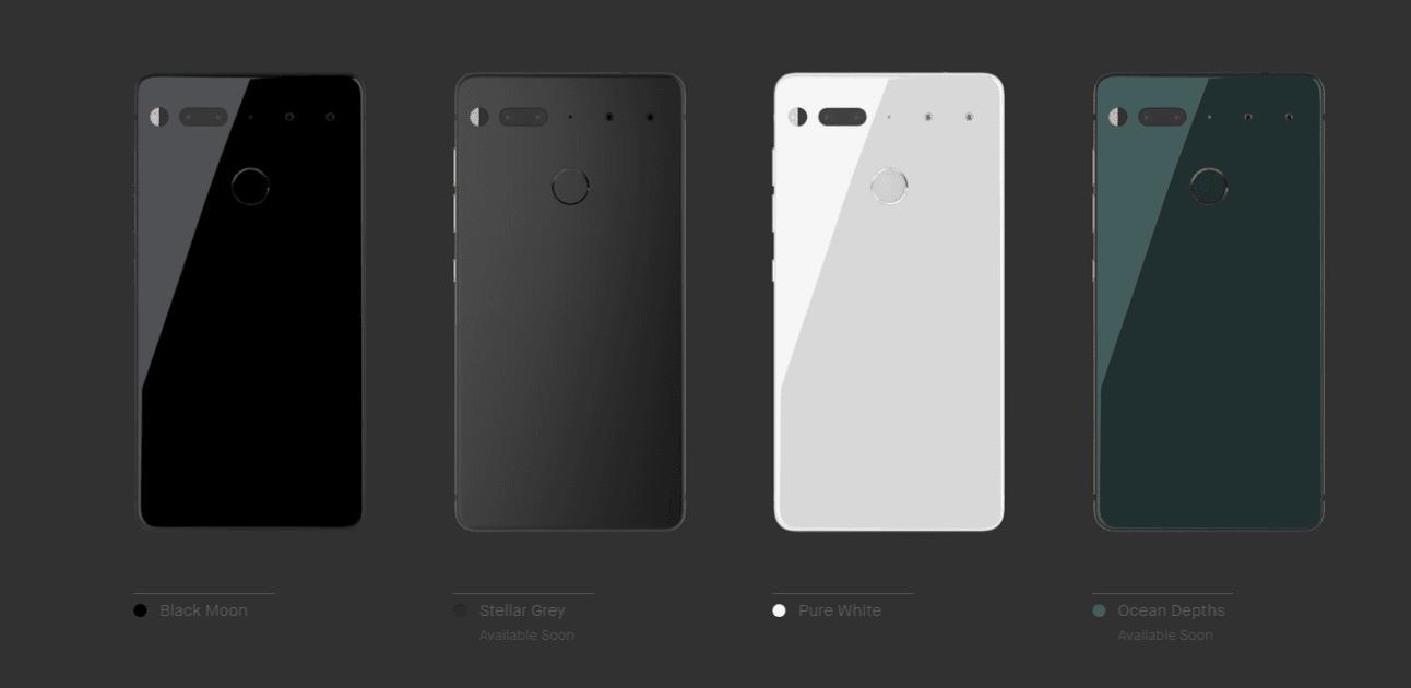 Создатель Android сделал свой смартфон Essential Phone (Essential Phone 11)