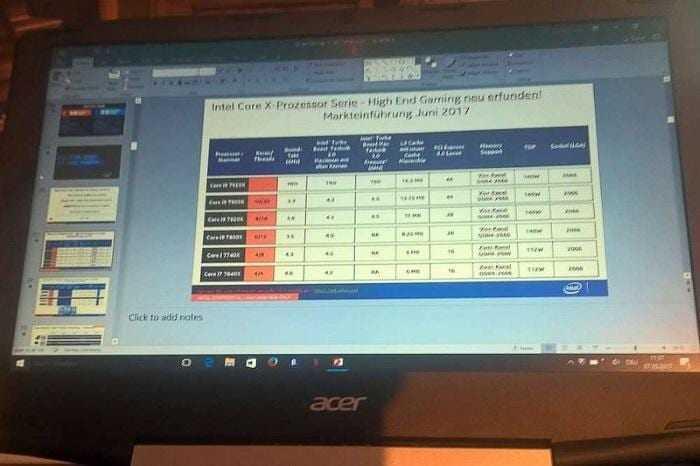 Процессоры Intel Core i9 будут показаны уже этим летом Процессоры Intel Core i9 будут показаны уже этим летом