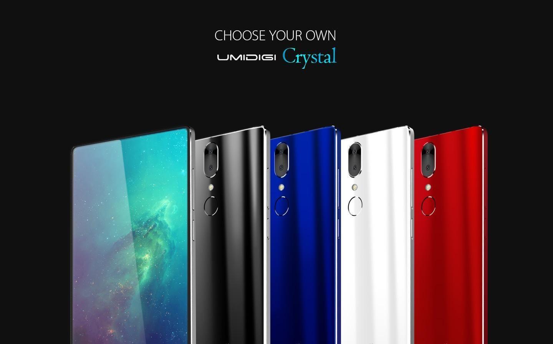 UMIDIGI Crystal - У смартфона UMIDIGI Crystal Pro будет двойная камера Panasonic Lumix