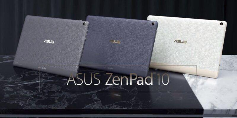 Computex 2017. ASUS представила новые планшеты Zenpad 10 (ZenPad 10 Z301ML MFL)