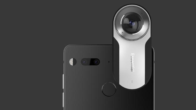 Создатель Android сделал свой смартфон Essential Phone Создатель Android сделал свой смартфон Essential Phone