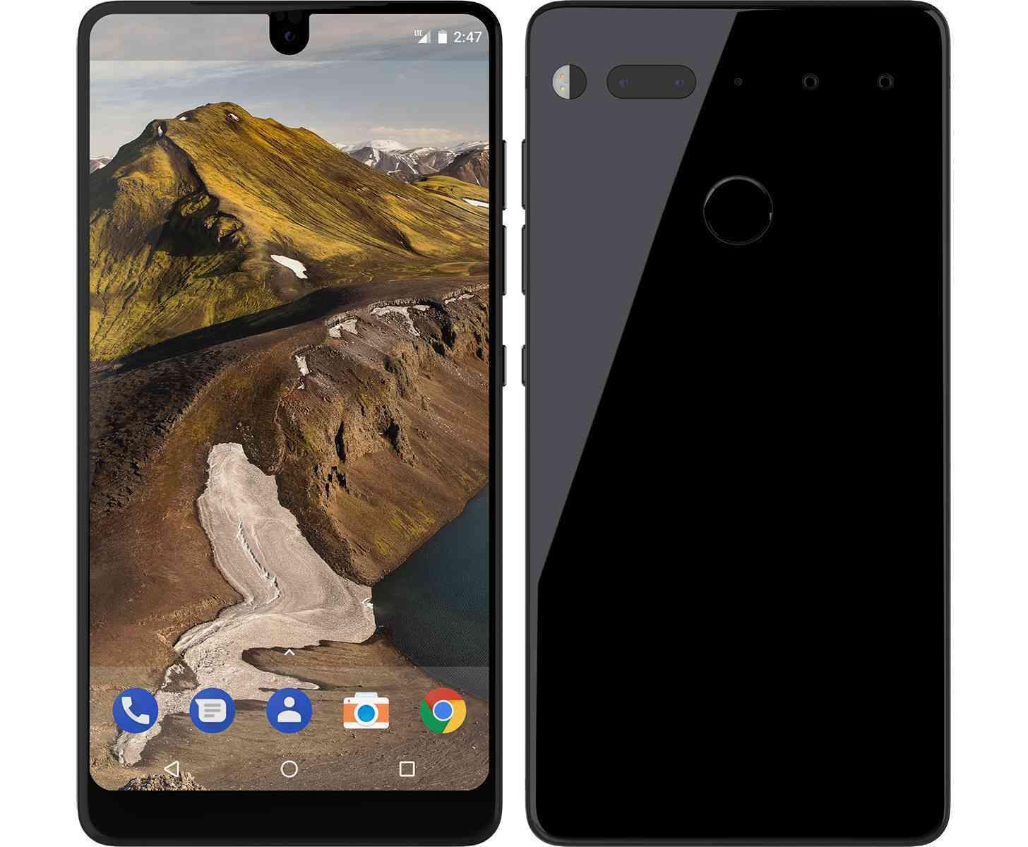 Создатель Android сделал свой смартфон Essential Phone (essential phone)