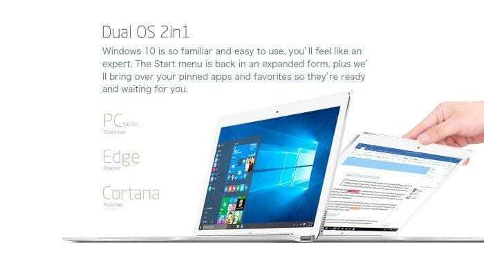 teclast Tbook 16 12 - Псевдо-обзор dual boot трансформера Teclast Tbook 16 Pro