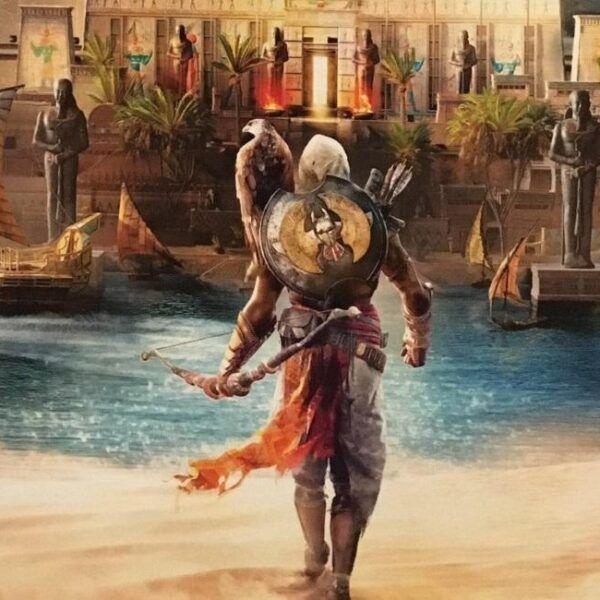 Свежий номер Game Informer с Assassin's Creed: Origins утёк в сеть (Assassins Creed Origins 3)