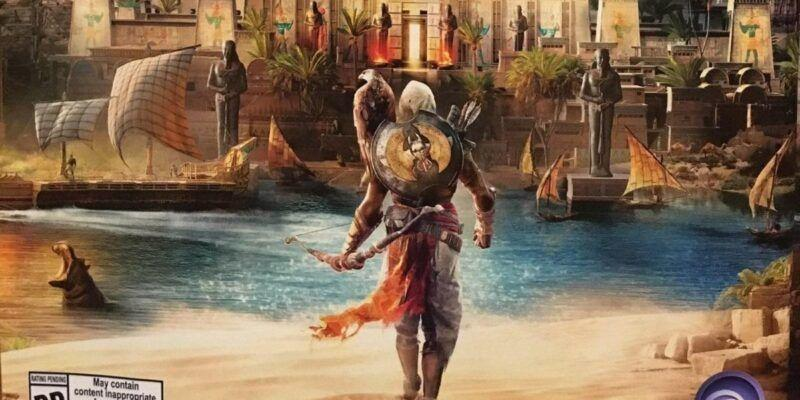 Свежий номер Game Informer с Assassin's Creed: Origins утёк в сеть (Assassins Creed Origins 3)