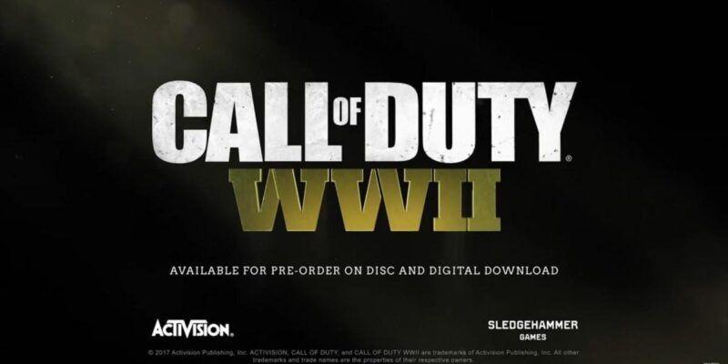 E3 2017. Call of Duty WWII обзавёлся мультиплеерным трейлером (Call of Duty WWII 4)