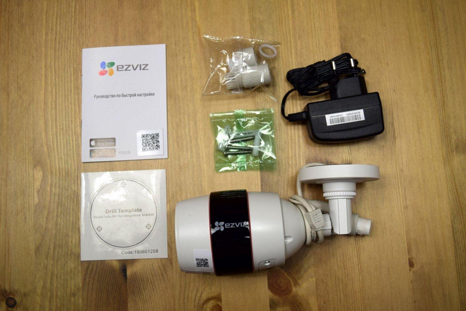 Image00003 - Обзор Ezviz C3S. Камера, которая могла бы жить сама по себе