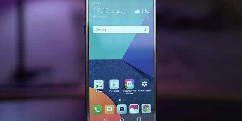 LG выпускает смартфон LG G6+ (LG G6 Anons 55)