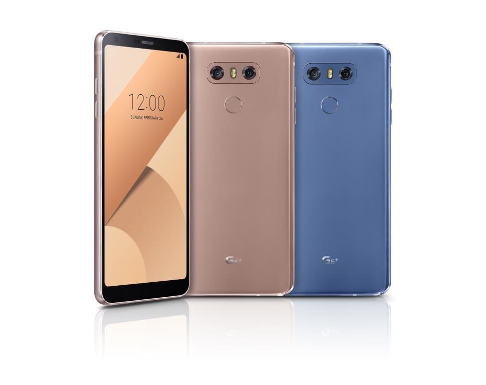 LG выпускает смартфон LG G6+ (LG G6 Plus Range)