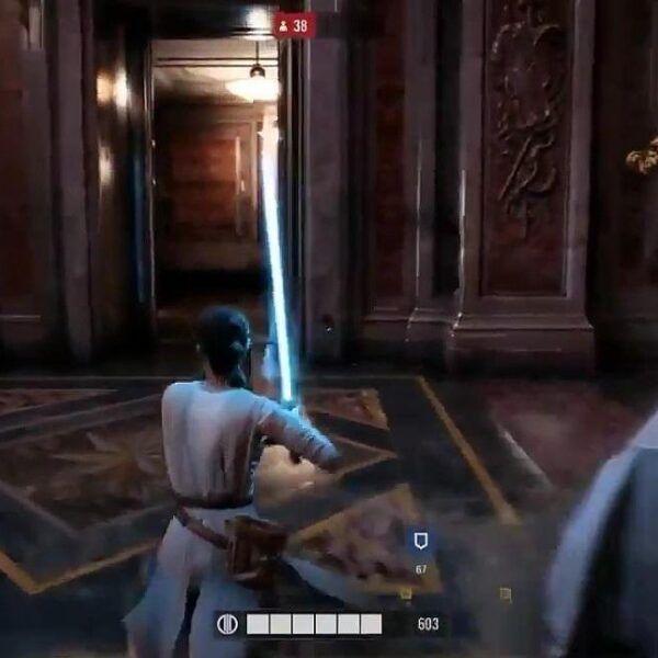 Альфа-геймплей Star Wars: Battlefront 2 ушёл в сеть до Е3 (STAR WARS BATTLEFRONT 2 GAMEPLAY 1)