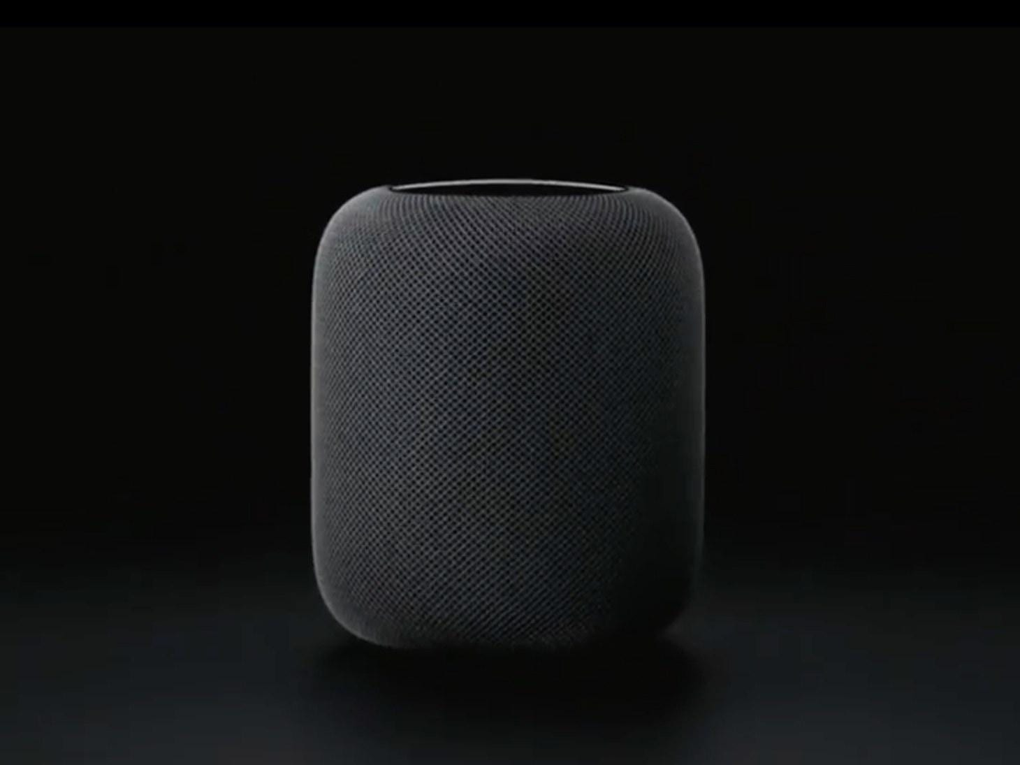 SpeakerTA - Apple представила домашнюю колонку HomePod