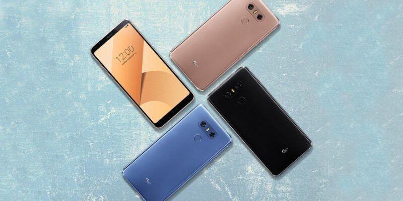 LG готовит обновлённую версию флагмана - G6+ (lg g6 plus 1)