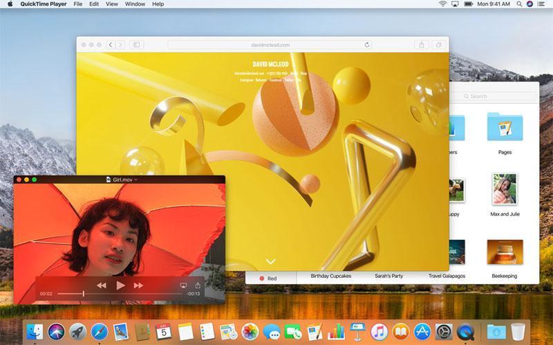 WWDC 2017. Что нового в macOS High Sierra (macOS High Sierra real 1)