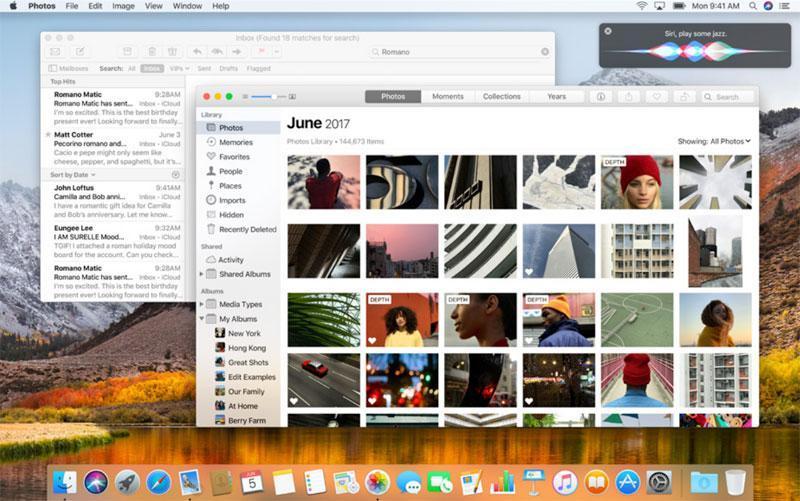macOS High Sierra real 3 - Apple анонсировала новую macOS High Sierra