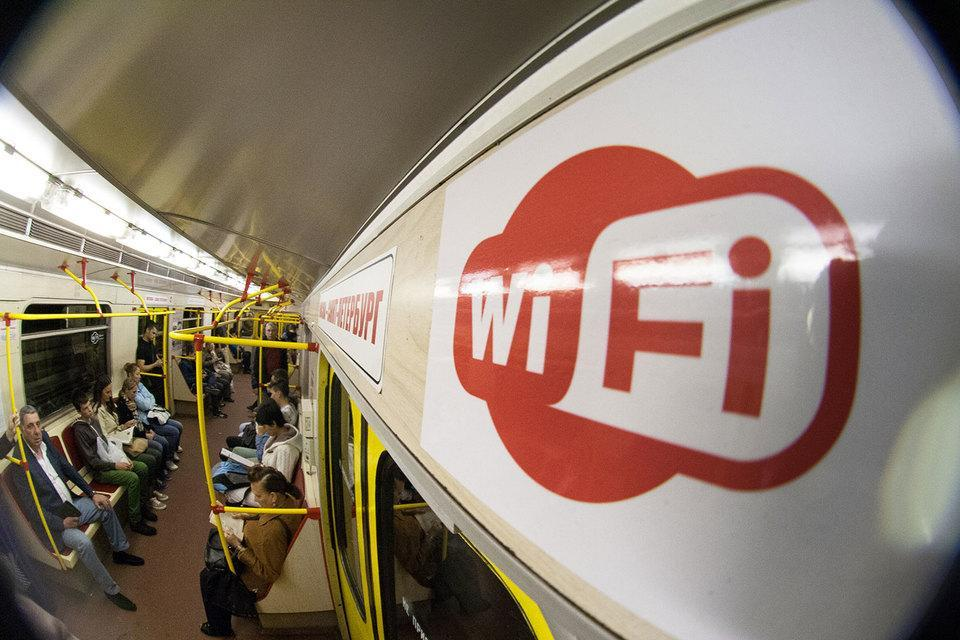 В метро Санкт-Петербурга запустили Wi-Fi (mobile high 1gg4)