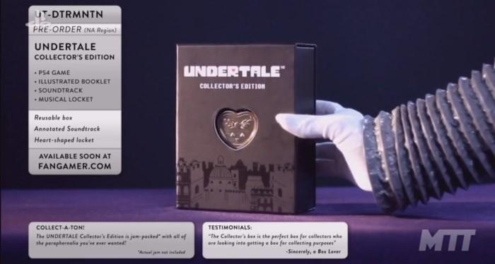 undertale ps4 1 - E3 2017. Анонсирована PS4-версия и коллекционка Undertale