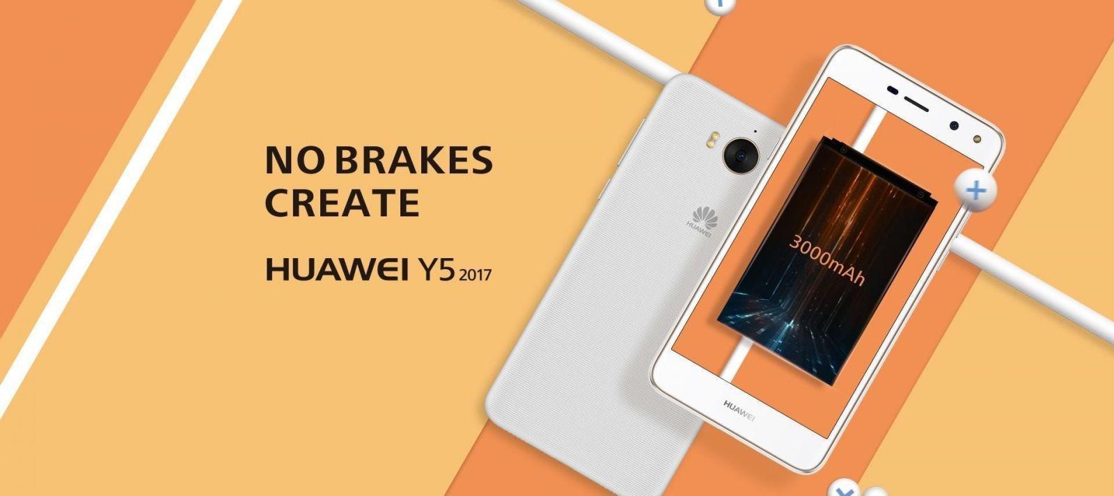 Huawei представил молодёжный смартфон Y5 (y5201701)