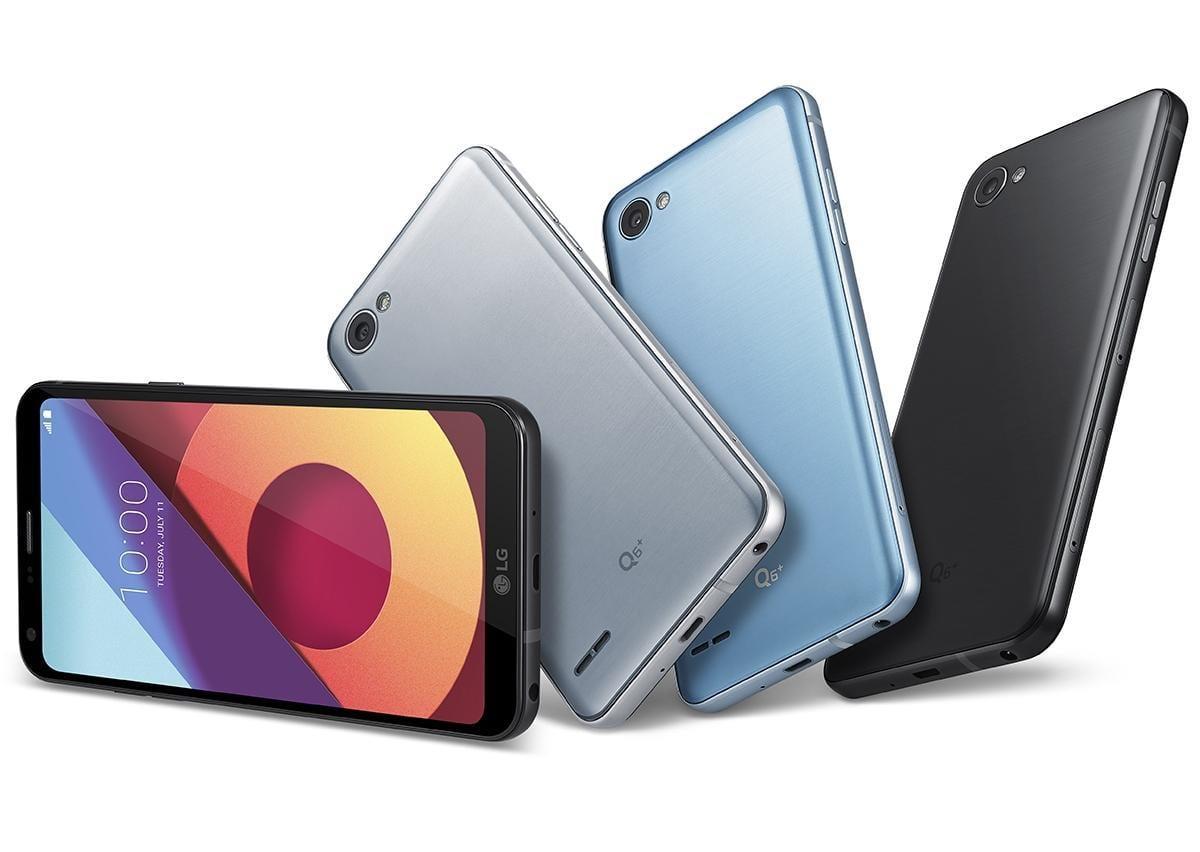 LG представила смартфон Q6 в России (LG Q6 plus)