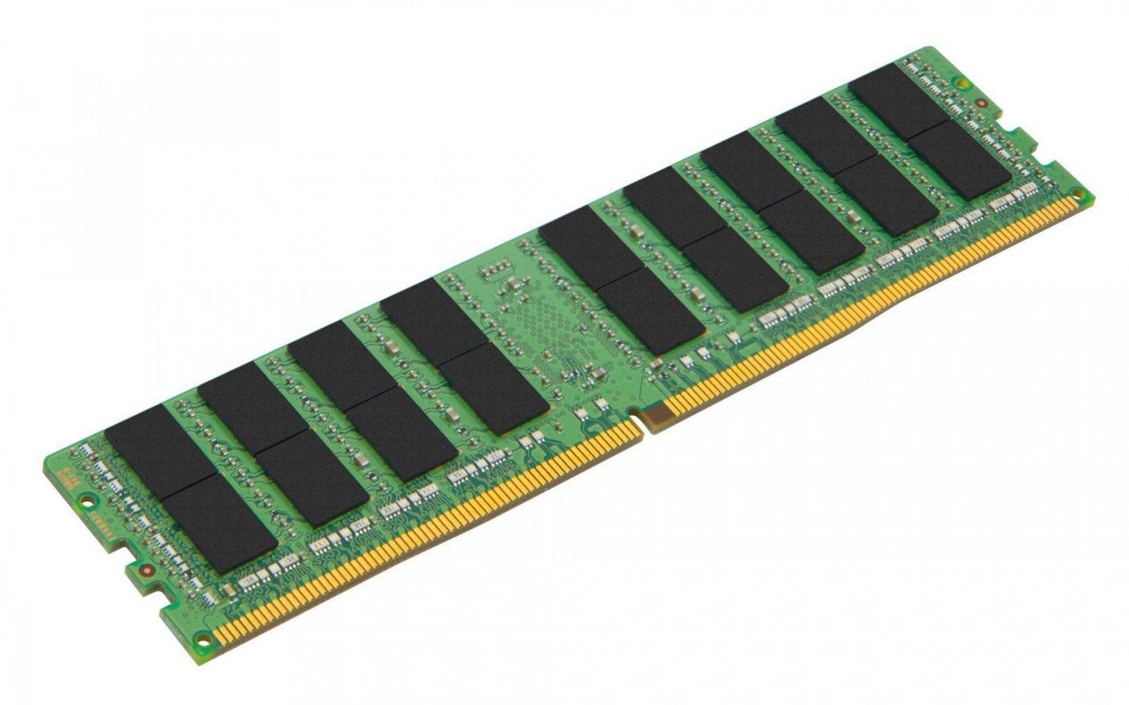 LRDIMM DDR4 ECC Registered DIMM 32GB - Модули регистровой памяти Kingston Server Premier DDR4 прошли валидацию для платформы Intel Purley
