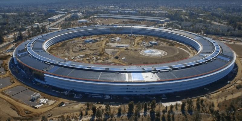 Завершается строительство нового кампуса Apple Park (apple park2)