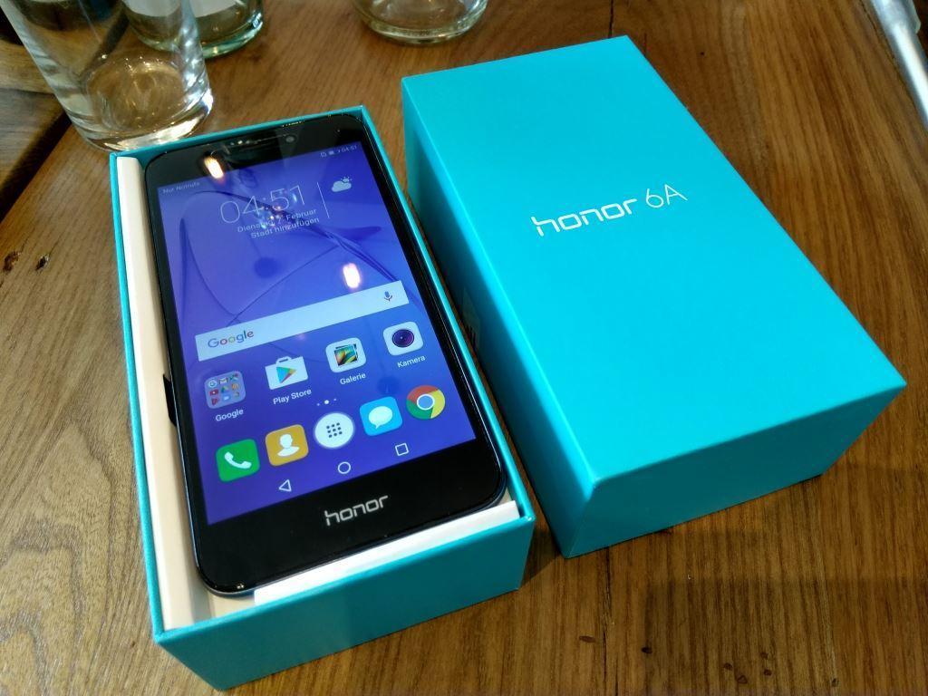 Новый смартфон Honor 6A поступает в продажу Новый смартфон Honor 6A поступает в продажу