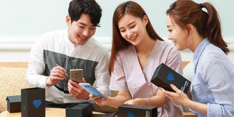 Samsung выпустил Galaxy Note Fan Edition (note 7 fe)