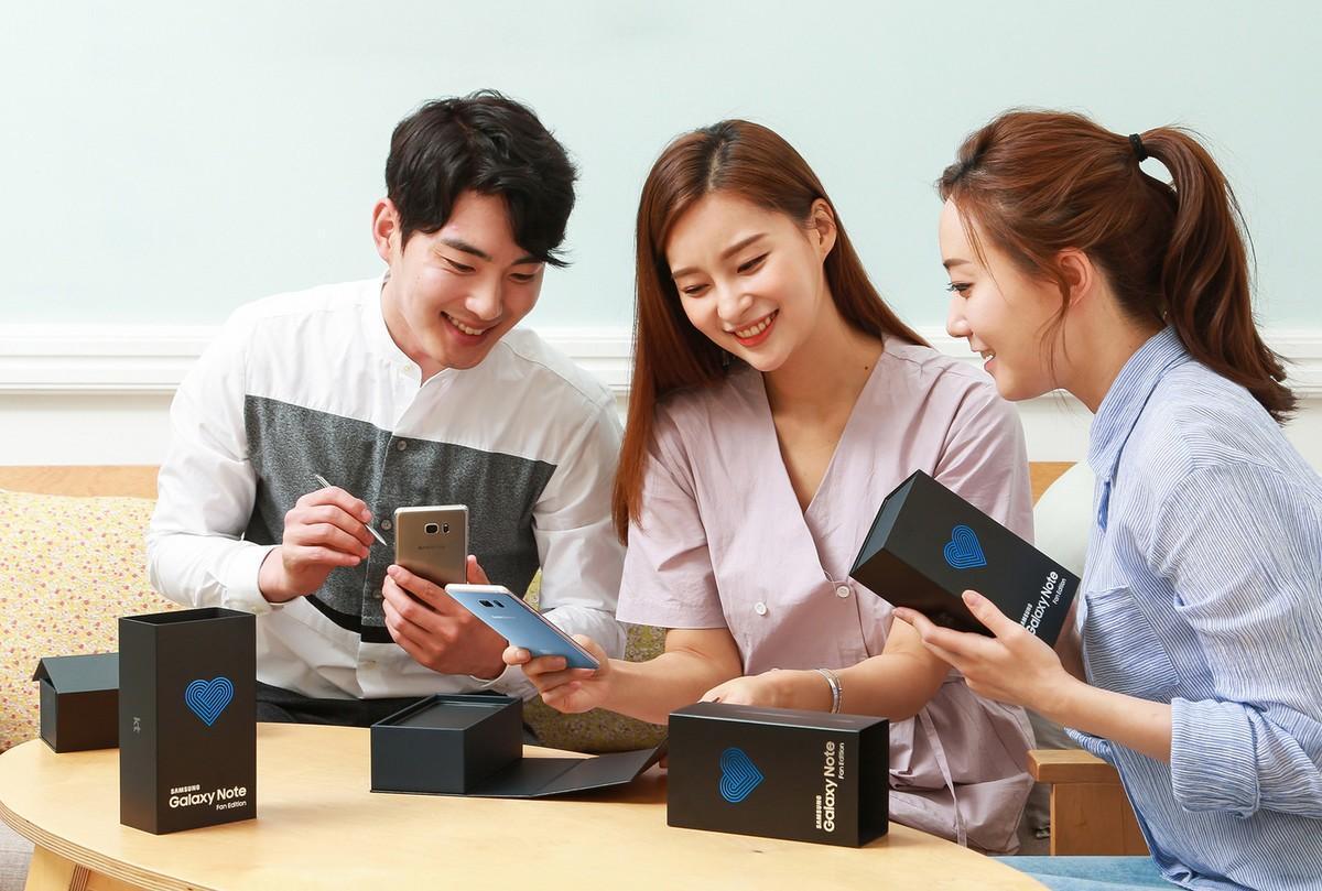 Samsung выпустил Galaxy Note Fan Edition