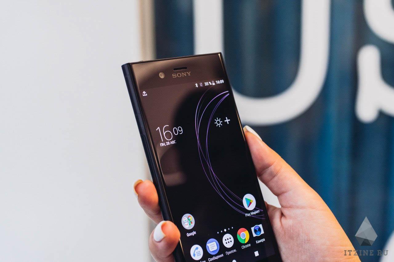 Экран Sony Xperia XZ1