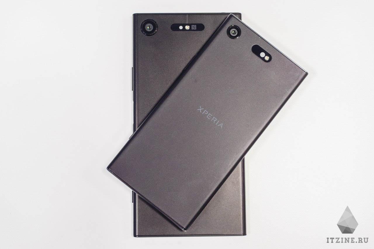 Sony Xperia XZ1 и Sony Xperia XZ1 Compact