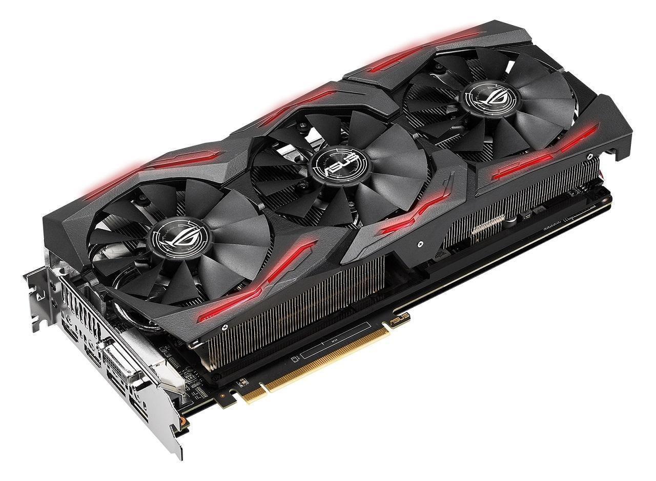 ASUS сделает самую мощную вмире видеокарту (ASUS ROG STRIX RX Vega 64 Graphics Card)