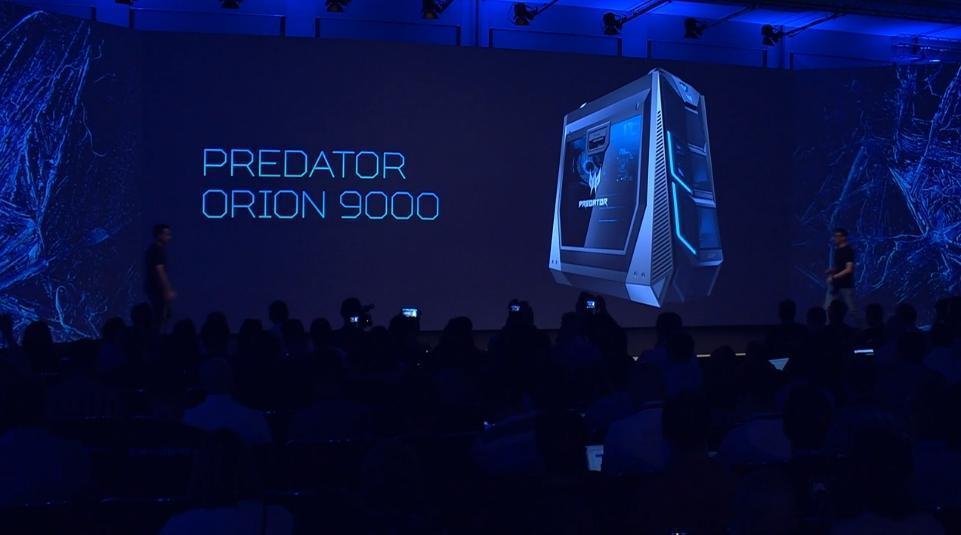 IFA 2017. Acer презентовала мощный ПК, изогнутый монитор, трансформер и другие новинки (AcerOREon Google Chrome)
