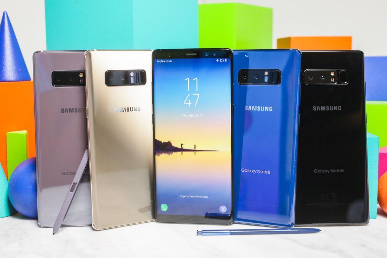 Samsung представила Galaxy Note 8 с двойной камерой и безрамочным дисплеем ()