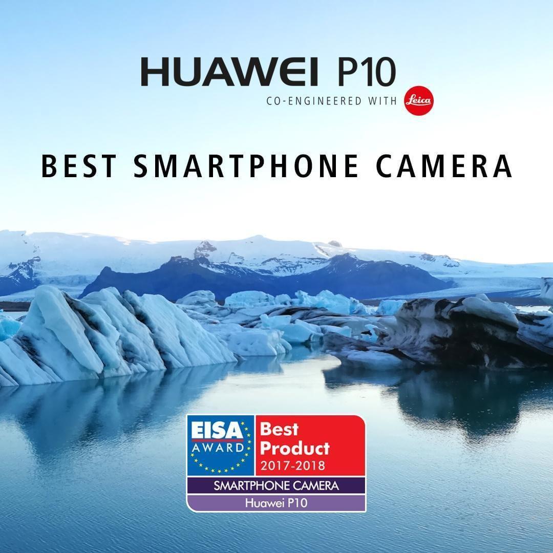 Huawei P10, Huawei Watch 2 и Honor 8 Pro получили награды EISA (EISA P10)