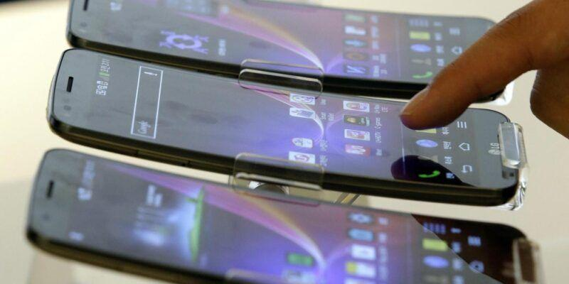 Следующий флагманLG будет оснащен дисплеем P-OLED (G Flex 4)