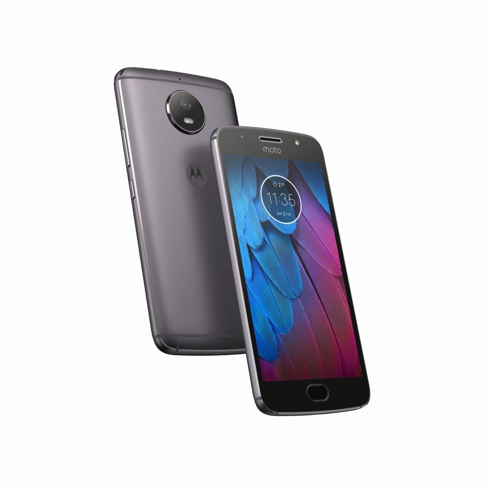 Motorola выпустила смартфоны Moto G5 Special Edition и Moto G5 Special Edition Plus (MotoG5S Hero LunarGray)
