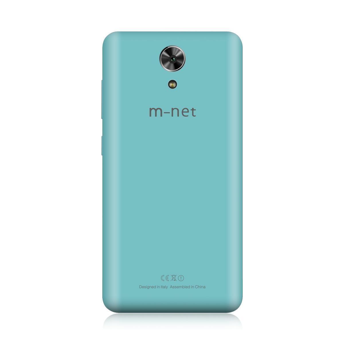 m-net выпустила смартфон Power 1 с аккумулятором 5050 мАч и быстрой зарядкой (Power 1 Mint green cover)