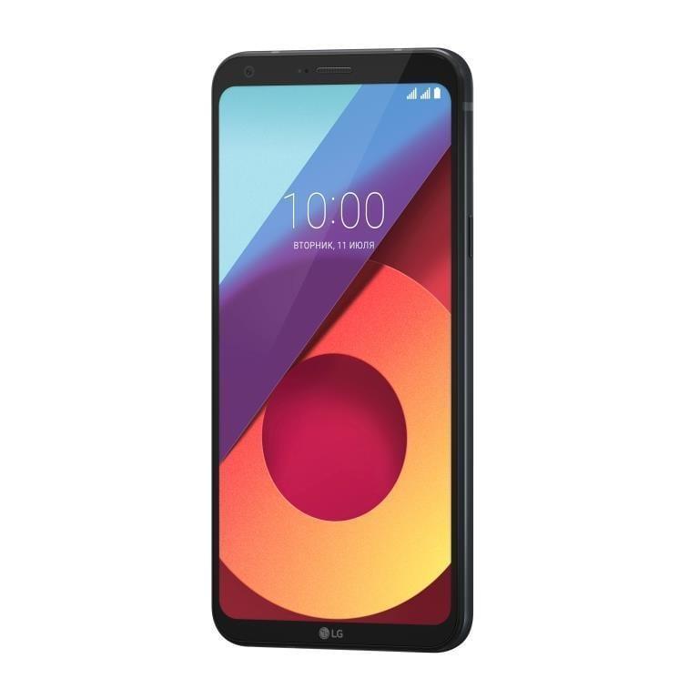 В России стартовали продажи смартфона LG Q6α (black On Shot RU 02 1)