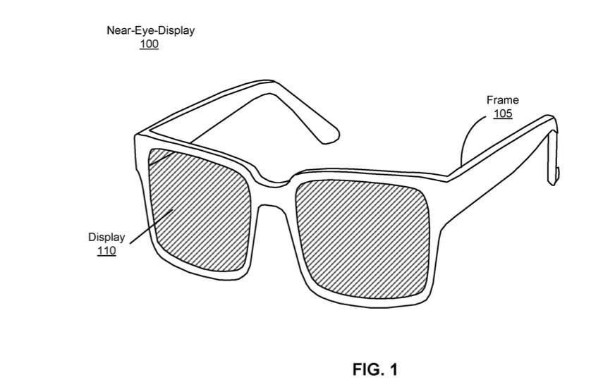 Facebook запатентовал очки с дополненной реальностью (facebook glasses)