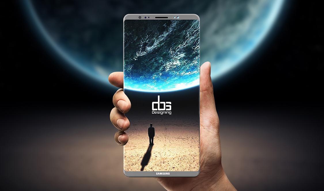 Samsung изменит место сканера отпечатков пальцев только вGalaxy Note9 (galaxy note 8 concept dbs 1)